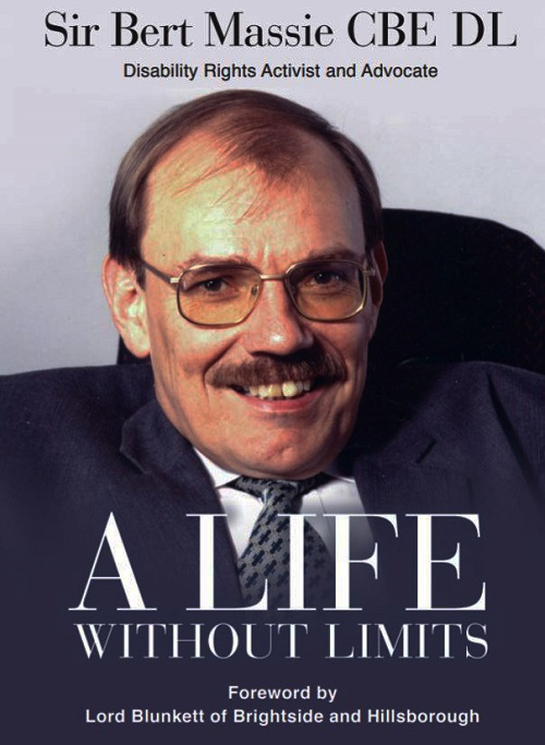 Disability rights activist Bert Massie book cover