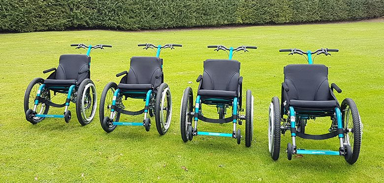 Photo of Enjoy National Trust days out with the MT Push all-terrain wheelchair – for FREE