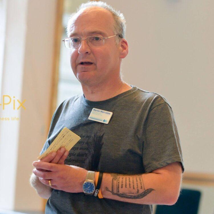 Martin Warrillow public speaking
