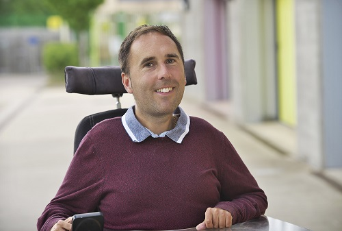 Martyn Sibley, Co-founder of Disability Horizons