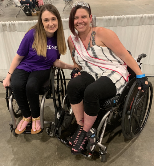 Shannon at Chicago Abilities Expo