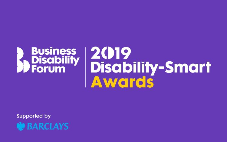Business Disability Forum 2019 Disability Smart Awards