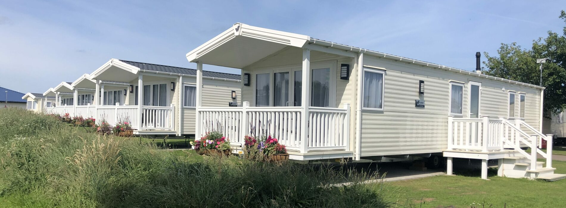 We review new accessible caravan open at Belle Aire Holiday Park