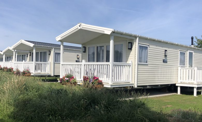 Accessible caravan at Belle Aire Holiday Park in Norfolk