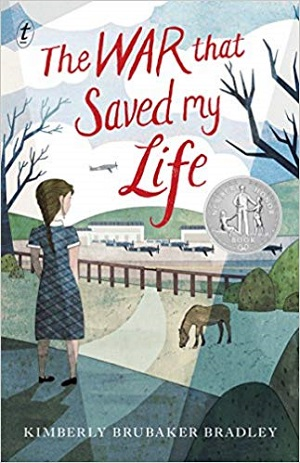 The War that Saved my Life romance novel with disabled protagonist