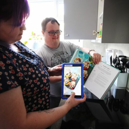 Vodafone and Mencap partnership delivers technology that improves the lives of people with a learning disability