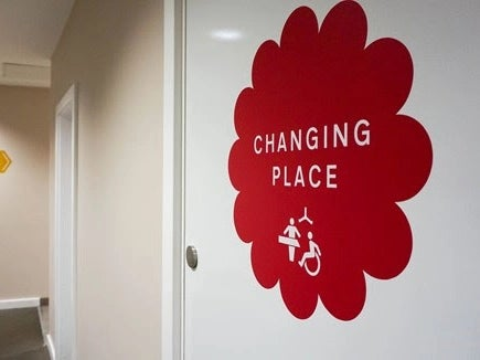 Photo of Changing Places toilets to be installed at 22 service stations across England