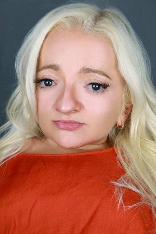 Disabled actress Samantha Renke