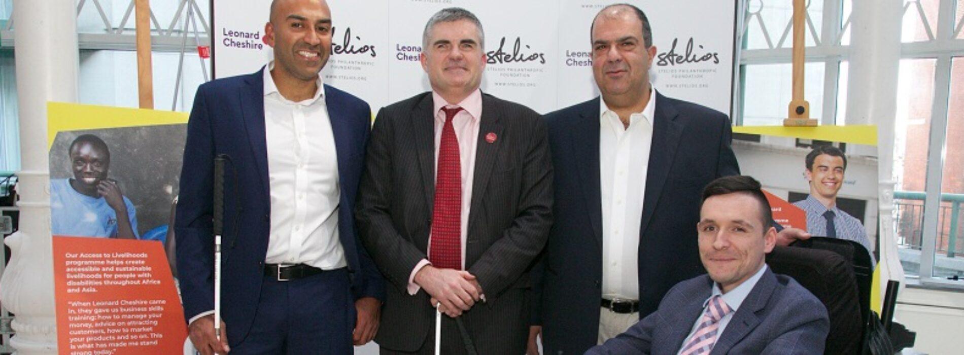 Sir Steliospledgesmore prize money for disabled entrepreneurs