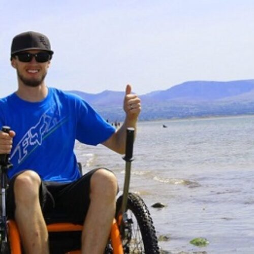 Get £200 off an all-terrain wheelchair trike this October with the Mountain Trike Company