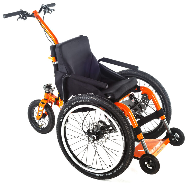 Mountain Trike's MT Push all-terrain wheelchair