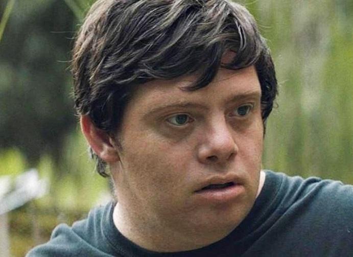 Disabled actor Zack Gottsagen