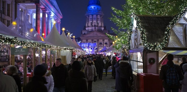 Berlin at Christmas with winter markets