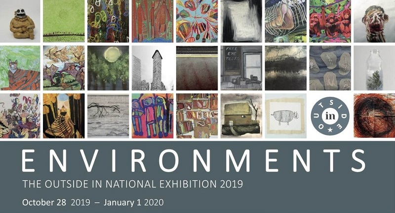 Environments exhibition poster