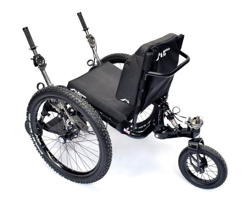 Mountain Trike Evo all-terrain wheelchair