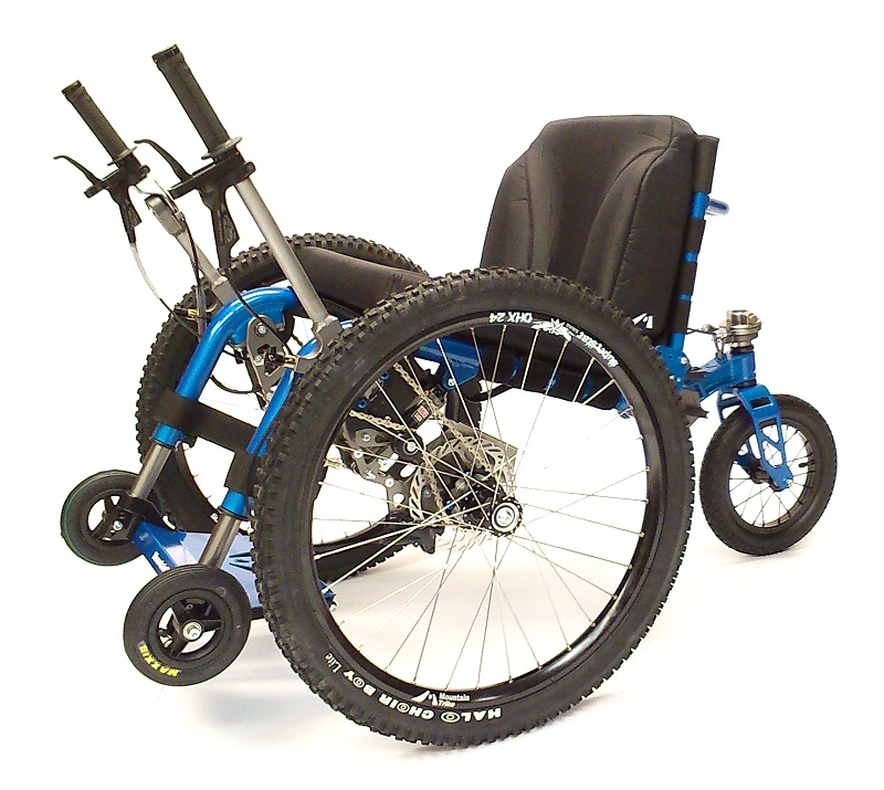 Mountain Trike all-terrain wheelchair