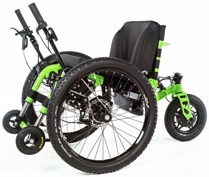 Mountain Trike eTrike all-terrain wheelchair