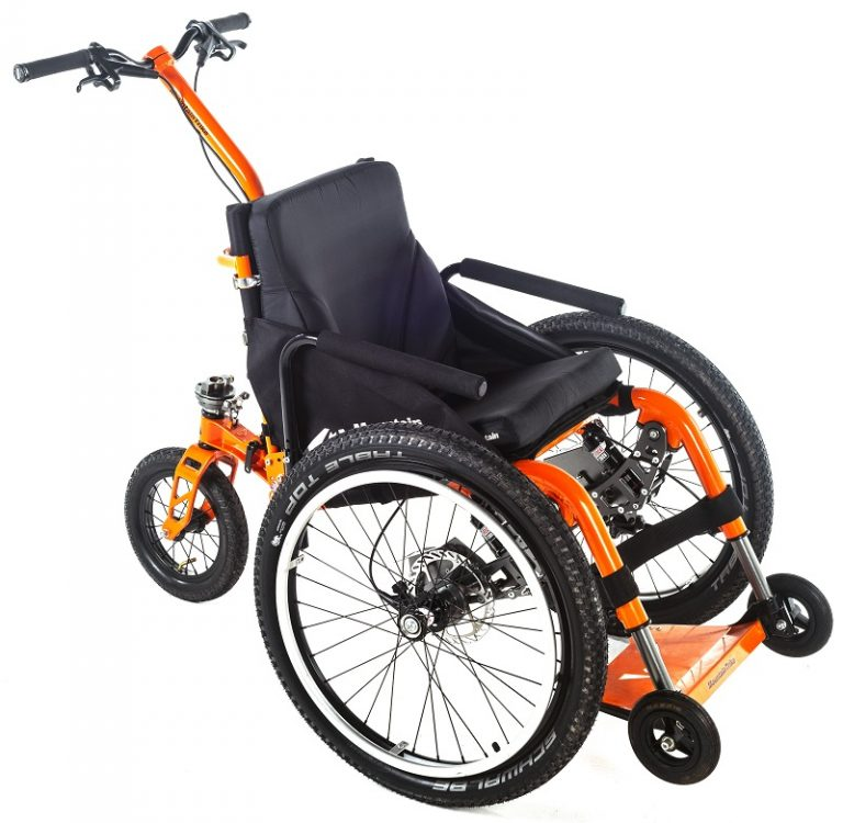 Mountain Trike Push all-terrain wheelchair