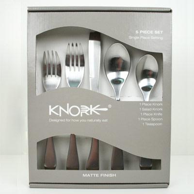 Buckingham Healthcare Knork knife and fork 5 piece set