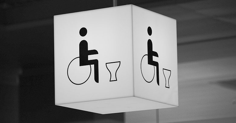Photo of Samantha Renke shares her experiences with accessible toilets