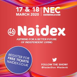 Naidex banner 2020