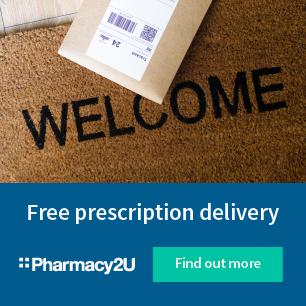 Pharmacy2U banner