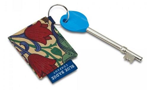 William Morris Radar key ring from Blue Badge Company