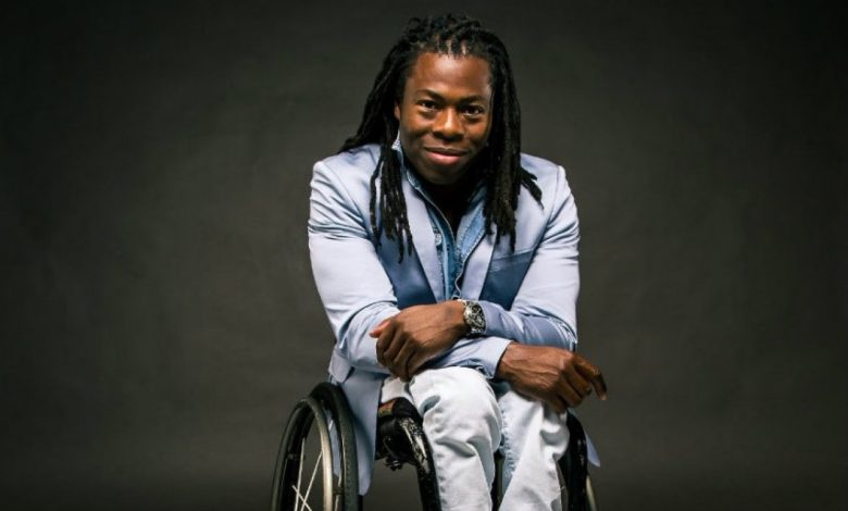 Photo of Ade Adepitan MBE to be made a patron of learning disability theatre group Blue Sky Actors