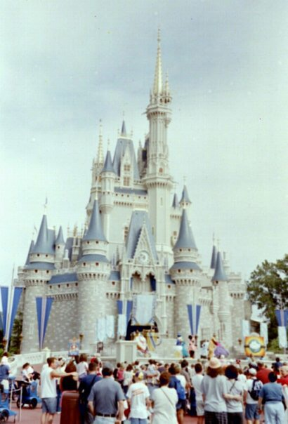 Cinderella castle at Magic Kingdom, Florida - Emma Purcell 2004