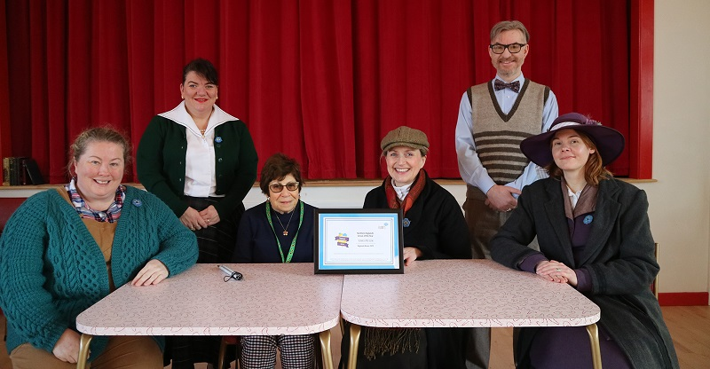 Beamish Museum with the Euan's Guide award