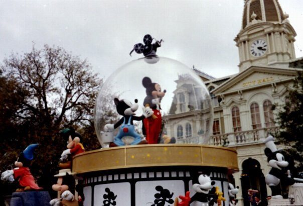 Disney Carnival with Mickey & Minnie Mouse - Emma Purcell 2004