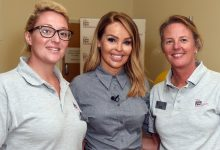 Photo of Katie Piper on Strictly, her clothing collection and new burns rehabilitation centre