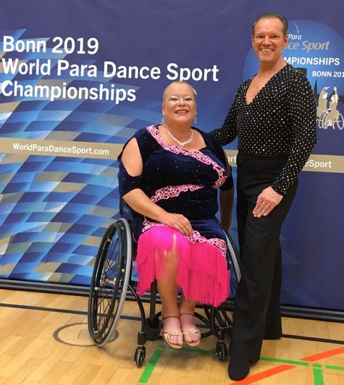 Para Dance couple at World Championships 2019