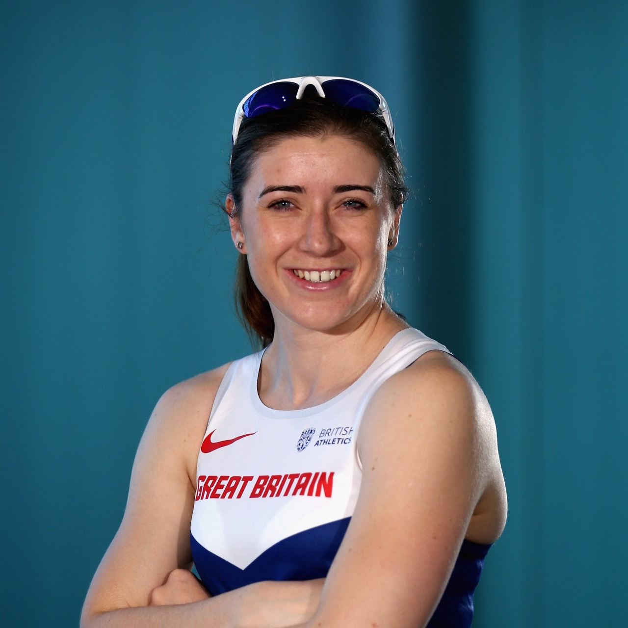 Libby Clegg in team GB tracksuit