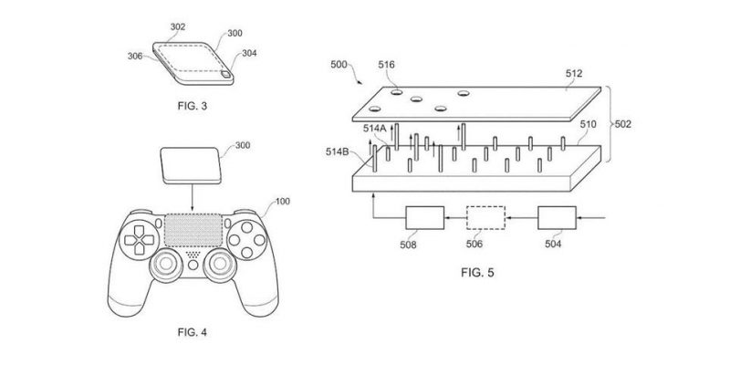 Playstation 5 controller diagram