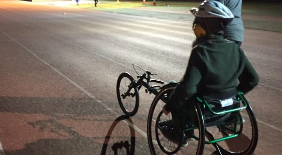 Photo of Disabled boy takes on the 20 in 2020 challenge to raise money for local sports club
