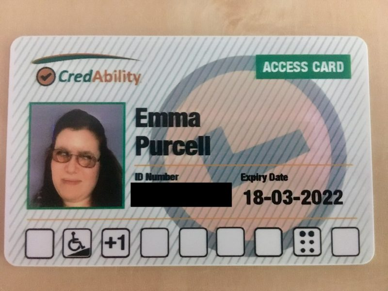 Emma Purcell's Access Card