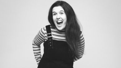 Photo of Rosie Jones: comedian, actress and scriptwriter with cerebral palsy