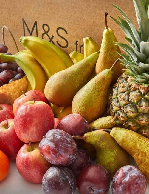M&S seasonal fruit box