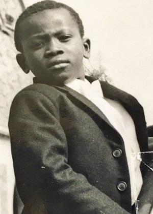 Mark Esho aged 8