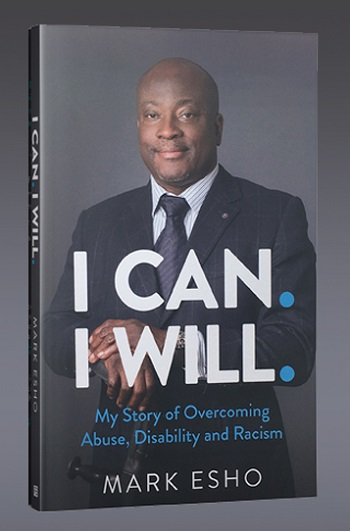 The front cover of Mark Esho's book I Can I Will