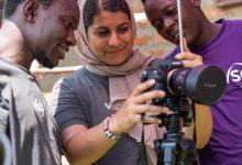 Photo of Deaf volunteer and filmmaker changes attitudes on deafness in Kenya