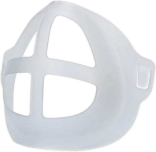 Breathing face mask bracket insert