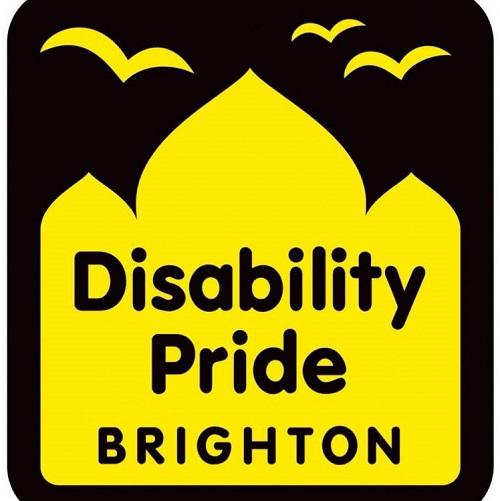 Disability Pride Brighton logo
