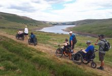 Photo of Enjoy Mountain Trike rambles with an organised group
