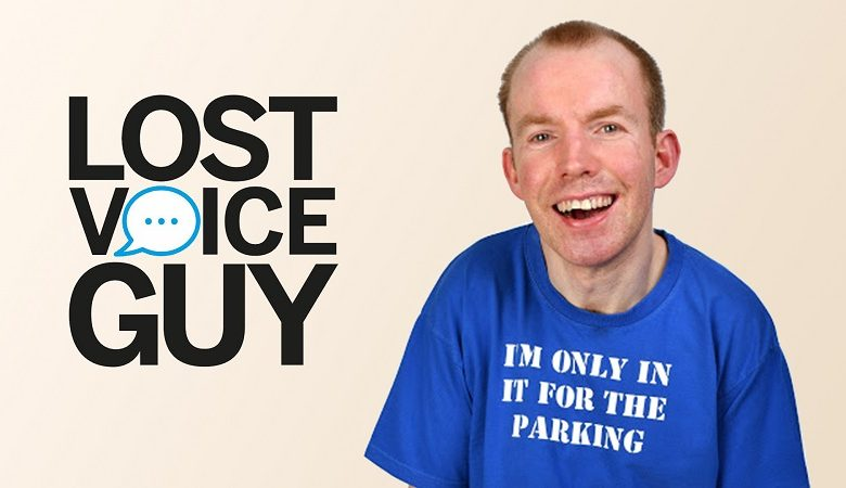 Photo of Lee Ridley on life as a disabled comedian and living through lockdown