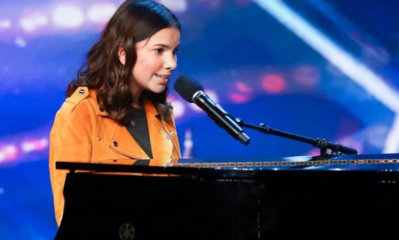 Photo of Blind musician Sirine Jahangir on her Britain's Got Talent audition