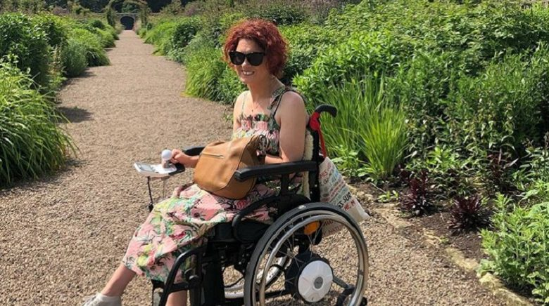 Photo of Blogger Lucy Reynolds on perceptions and the representation of disability