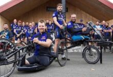Photo of Amputee veterans conquer 1,000-mile cycle ride in support of comrade with motor neurone disease