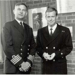 Allen Parton Navy Days